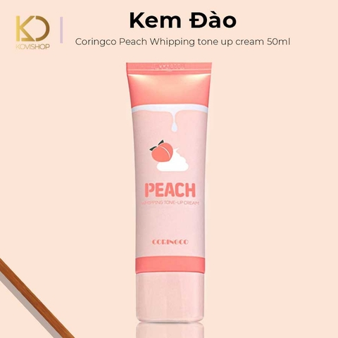 KEM ĐÀO CORINGCO PEACH WHIPPING TONE UP CREAM 50ML