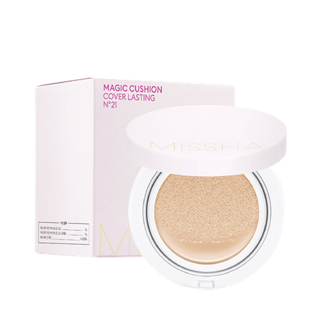 PHẤN NƯỚC MISSHA HỒNG MAGIC CUSHION COVER LASTING NO21 (HỘP)
