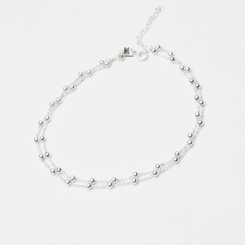 ANK DOUBLE BALL CHAIN