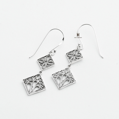 E DROP DOUBLE SQUARE OXIDIZE PATTERN