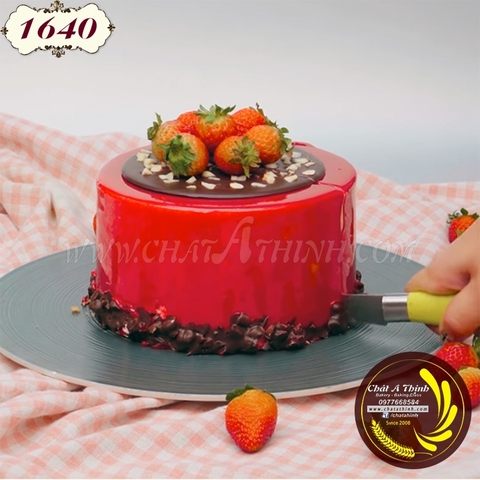 Mousse strawberry