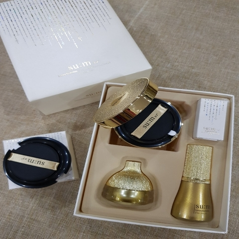 Set Cushion Summa ( LosecSumma Gold Metal Foundation 01Special set)