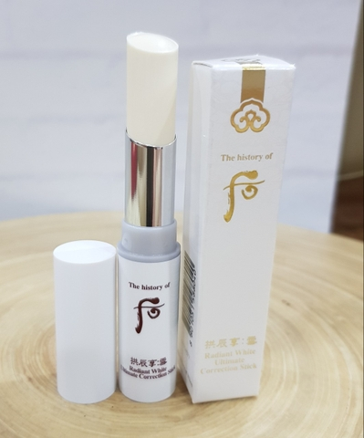 THỎI TRỊ NÁM WHOO RADIANT WHITE ULTIMATE CORRECTION STICK