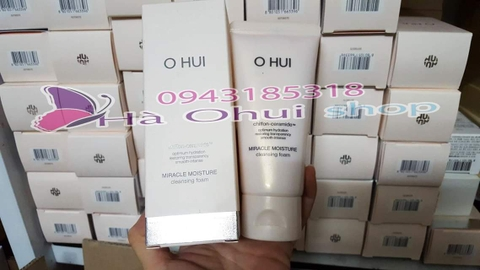 Sữa rửa mặt Ohui hồng 80ML ( Ohui optimum hydration miracle moisture cleansing foam)