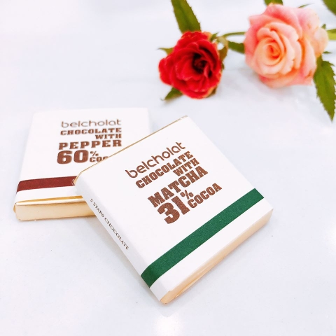 Caraque Chocolate / Matcha (50pcs)