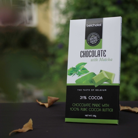 Chocolate with Matcha