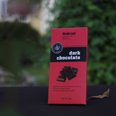 Dark ChocolateWonder- Land 100g