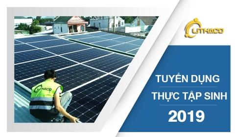 Kết quả hình ảnh cho Công ty pin năng lượng mặt trời tuyển dụng