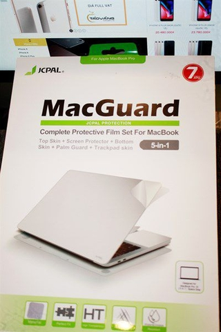 Miếng dán Mac Guard Full Body 5 in 1 MBP Retina 2015 - 13