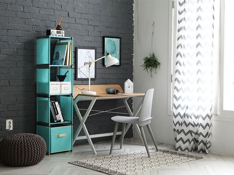 4-blocks shelves- Grey - JNY04GR