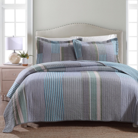 Blanket – Grey Stripes - BDL162