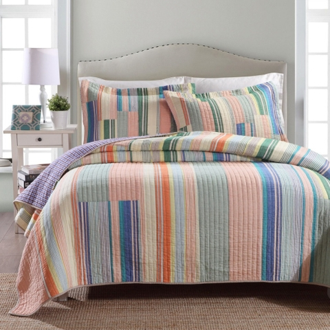 Blanket – Orange stripes - BDL164
