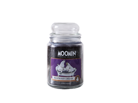 Moomin Raspberry Dream Candle - CDL-MRD