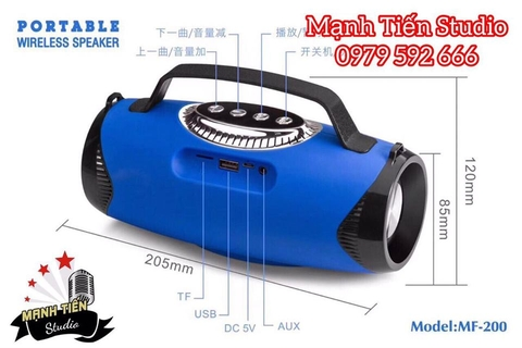 Loa bluetooth MF - 200