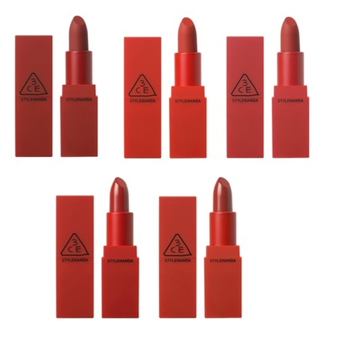 SON LÌ 3CE RED RECIPE MATTE LIP COLOR LIPSTICK