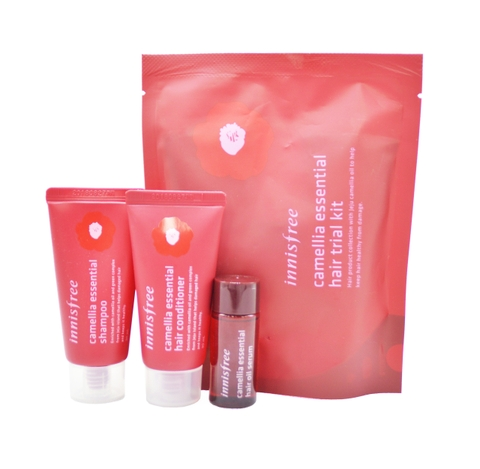 SET CHĂM SÓC TÓC INNISFREE CAMELLIA ESSENTIAL HAIR TRIAL KIT