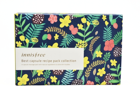 SET 5 MẶT NẠ INNISFREE BEST CAPSULE RECIPE PACK COLLECTION
