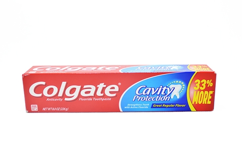KEM ĐÁNH RĂNG COLGATE CAVITY PROTECTION 33% MORE