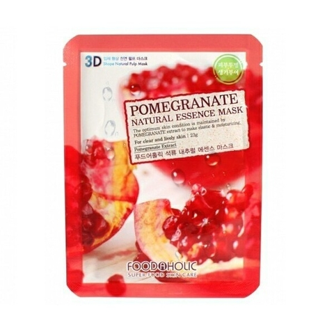 MẶT NẠ 3D FOODAHOLIC POMEGRANATE NATURAL ESSENCE MASK