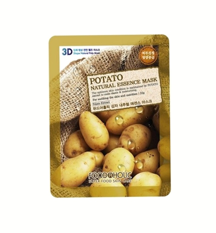 MẶT NẠ 3D FOODAHOLIC POTATO NATURAL ESSENCE MASK