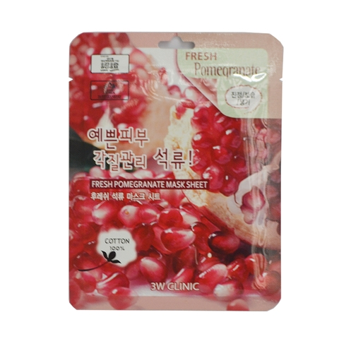 MẶT NẠ 3W CLINIC FRESH POMEGRANATE MASK SHEET