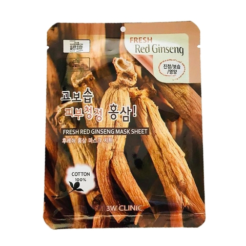 MẶT NẠ 3W CLINIC FRESH GINSENG MASK SHEET