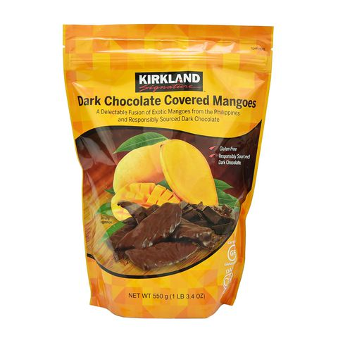 SOCOLA XOÀI KIRKLAND DARK CHOCOLATE COVERED MANGOES MỸ 550G