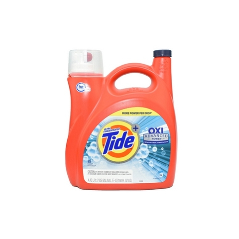 Nước Giặt Tide Ultra Concentrated Oxi Advanced Power 4.43 Lít Mỹ