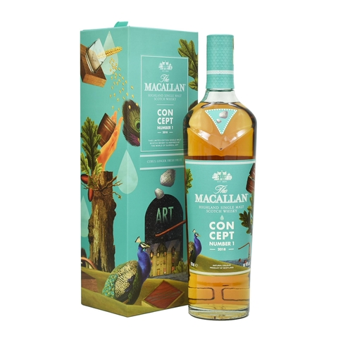 RƯỢU THE MACALLAN CONCEPT NUMBER 1 700ML