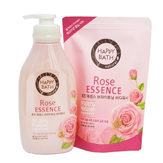 SET SỮA TẮM HAPPY BATH ROSE ESSENCE HÀN QUỐC 500ML