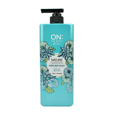 SỮA TẮM NƯỚC HOA ON THE BODY NATURE GARDEN PERFUME 900G