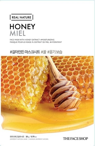 Mặt Nạ Giấy Mật Ong The Face Shop Nature Honey Face Mask Hàn Quốc