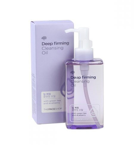 Dầu tẩy trang OS Deep Firming Cleansing Oil The Face Shop 200Ml