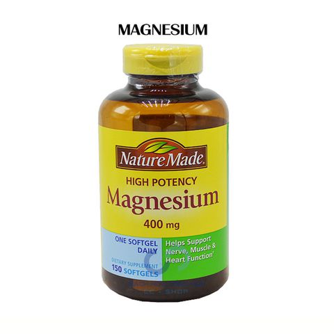 VIÊN UỐNG BỔ SUNG MAGIE NATURE MADE MAGNESIUM 400MG (6.2019)