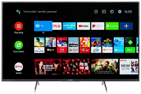 Android Tivi Sony 4K 49 inch KD-49X7500H Model 2020