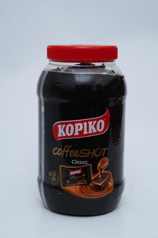 Kopiko Coffe shot Jar 6 x 600g