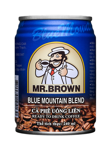 Ca phe Mr.Brown Blue Mountain 240ml_VN