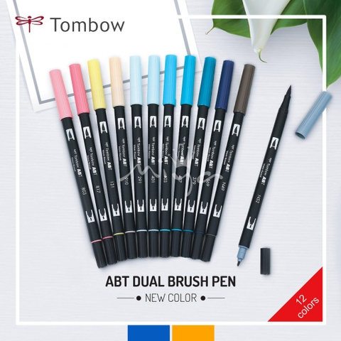 Bút maker Tombow Dual Brush (New Colors 2019)
