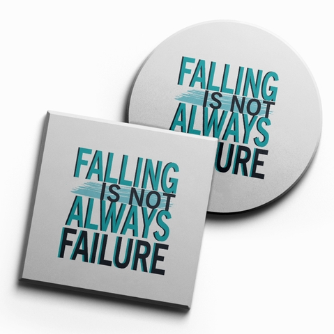 Lót ly Falling is not always failure (bộ 6 chiếc)