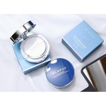 Kết quả hình ảnh cho KLAVUU Blue Pearlsation Collagen Cushion 15g #21