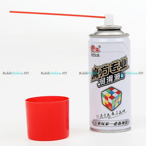 Cyclone-Boy Spray Lube (150ml) - Silicone bôi trơn Rubik