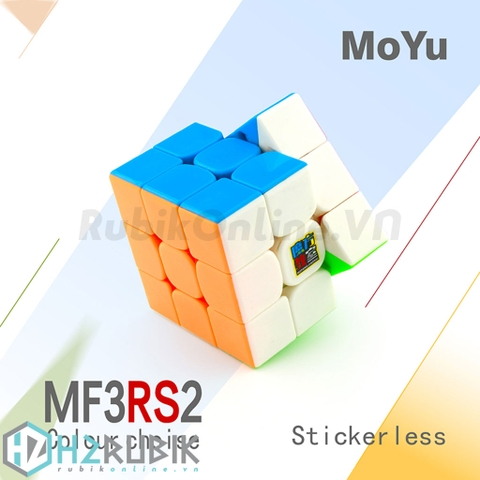 MoFangJiaoShi 3x3 MF3RS2 Stickerless | H2 Rubik