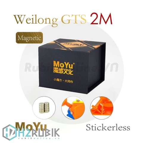 MoYu 3x3x3 Weilong GTS V2 Magnetic (Nam châm - Stickerless)