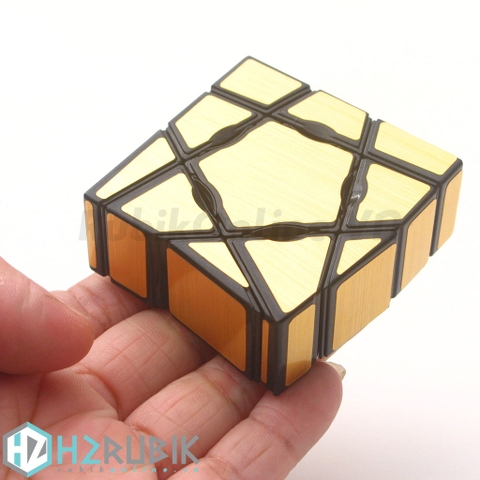 YJ Ghost Cube with Golden Stickers | H2 Rubik - RubikOnline.VN