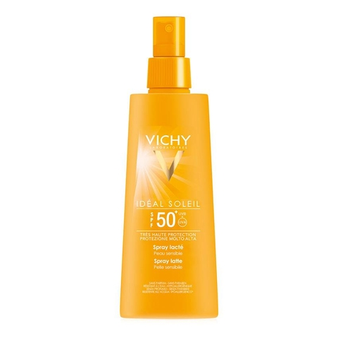 XỊT CHỐNG NẮNG VICHY  SPF 50+ IDEAL SOLEIL
