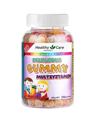 KẸO DẺO GUMMY MULTIVITAMIN HEALTHY CARE 250 VIÊN