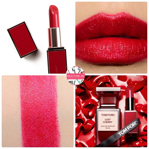 SON TOM FORD LIP COLOR ROUGE À LERFVRES #LC01 LOST CHERRY - ĐỎ