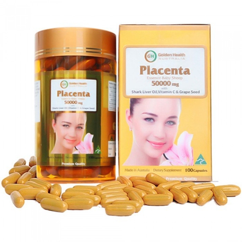 GOLDEN HEALTH PLACENTA 50000MG