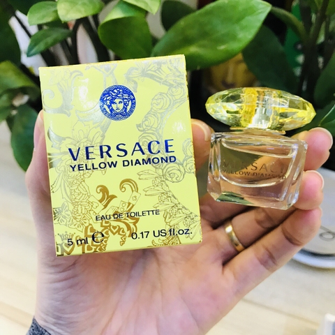 NƯỚC HOA VERSACE YELLOW DIAMOND EDT - 5ML