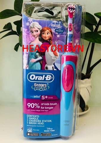 BÀN CHẢI ĐIỆN ORAL B STAGE POWER STAR WARS
